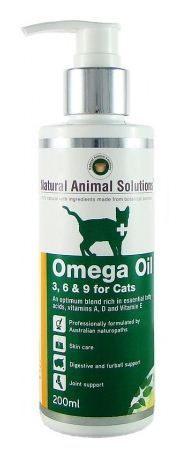 Omega 3, 6 & 9 Oil with Vitamin E for Cats