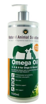 Omega 3, 6 & 9 Oil for Dogs/Horses - 1000ml