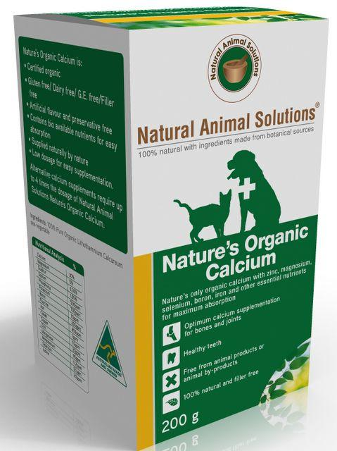 Nature's Organic Calcium - 200g